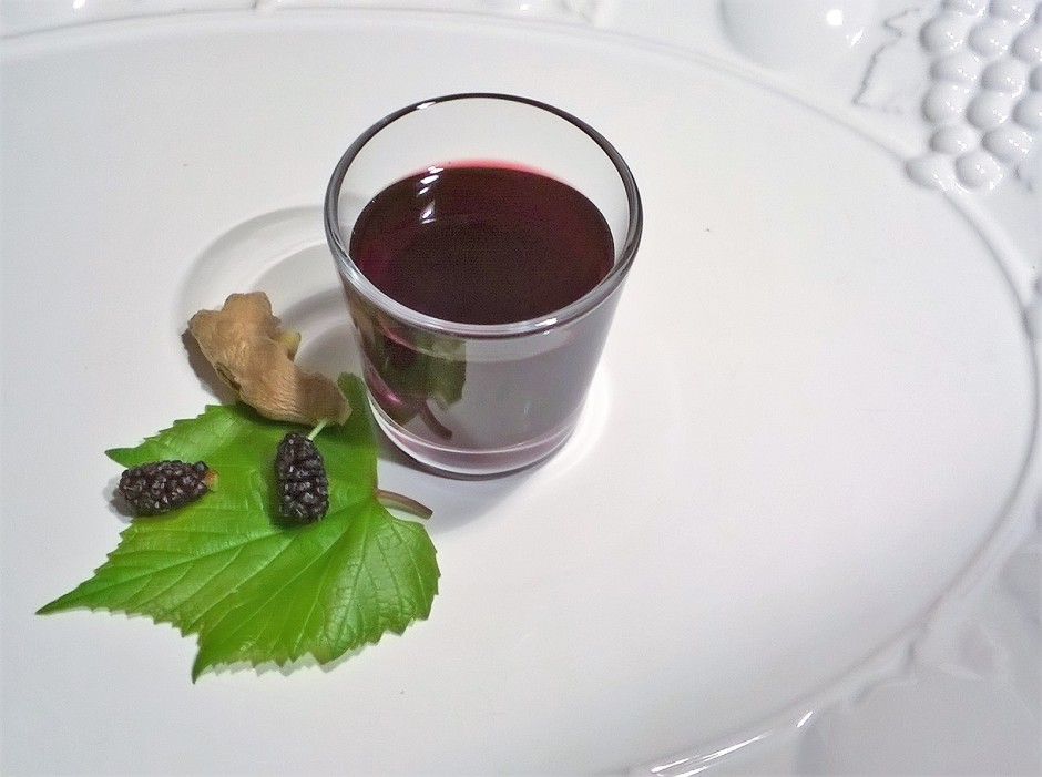 Maulbeer Ingwersaft