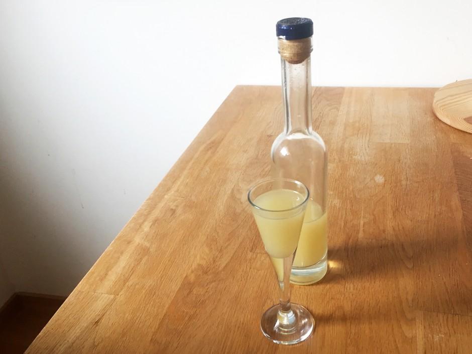 Ingwer-Zitrone-alkoholfreier Gesundheitsschnaps