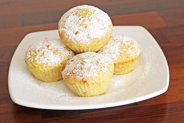 Apfel-Birnenmus-Muffins