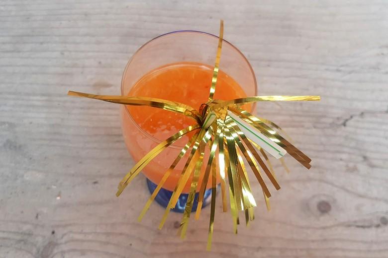 Smoothie in Orange