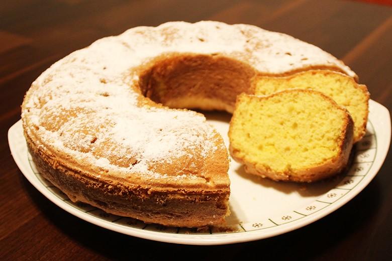 einfacher Rührteigkuchen