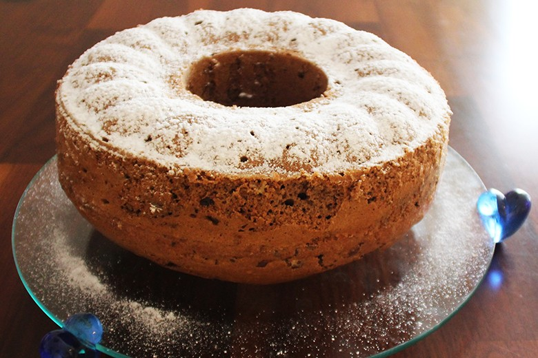 Schoko-Rosinen-Kuchen