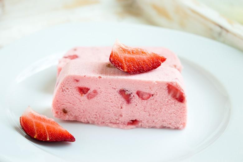 Erdbeer-Parfait