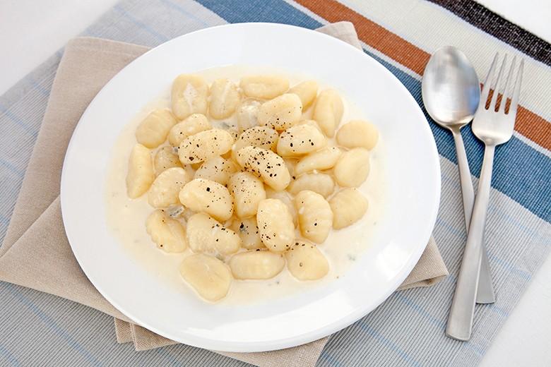 Gnocchi in Weißweinsauce