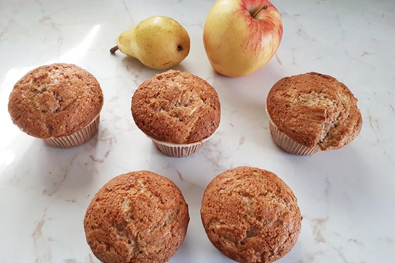Birpfel-Muffins