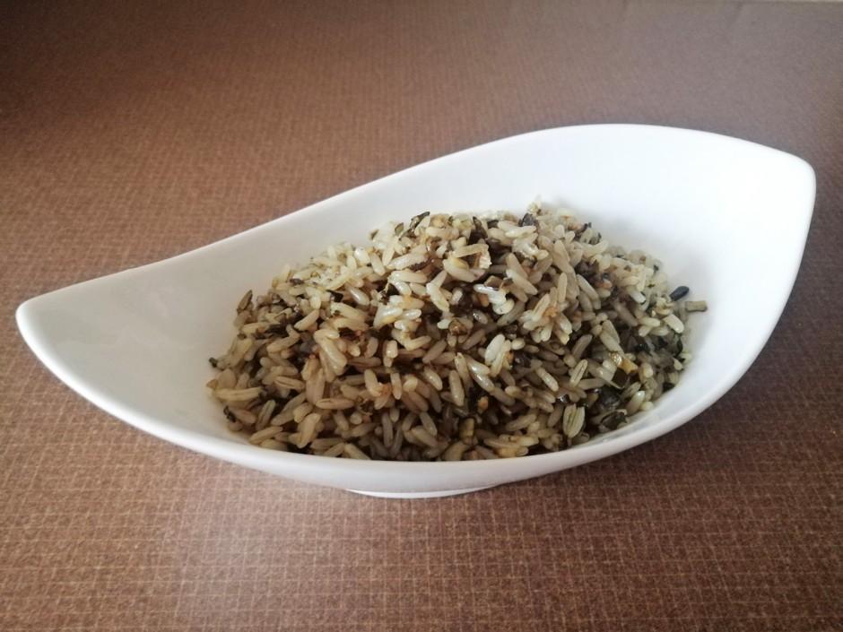 Kürbiskern-Reis