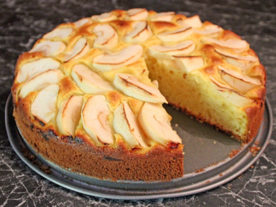 Apfel-Joghurt-Torte