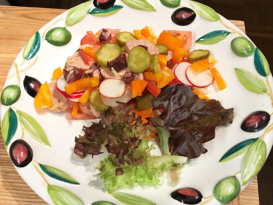 Fränkischer Wurstsalat
