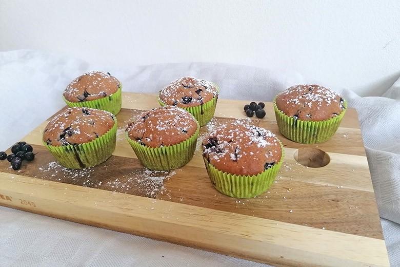 Heidelbeer-Kokos Muffins