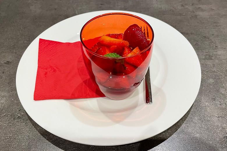 Marinierte Erdbeeren