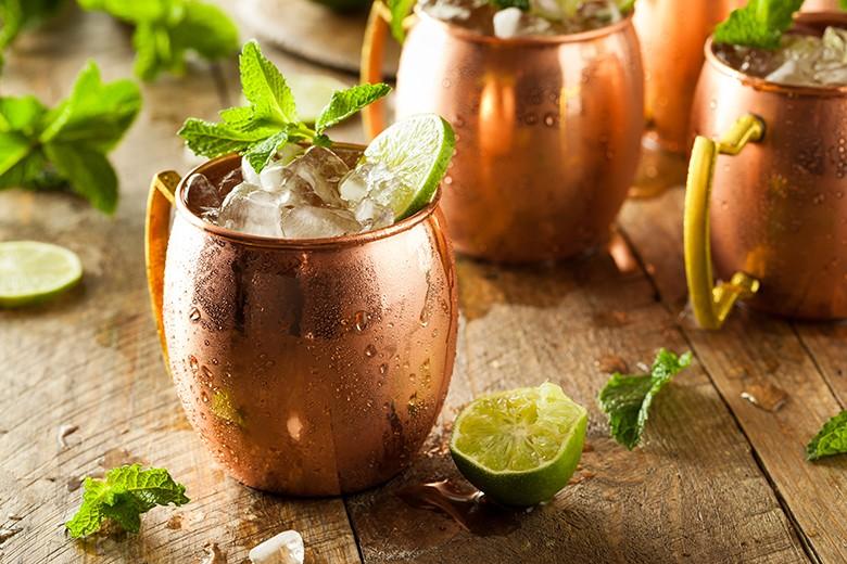 Alkoholfreier Moscow Mule